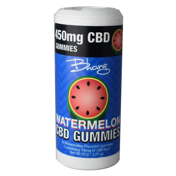 Bhang CBD Gummies - Watermelon Tube - 450 mg