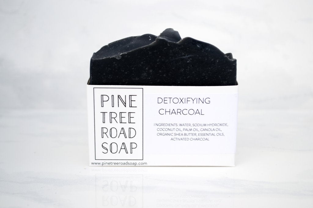Pine Tree Road Detoxifying Charcoal Artisan Soap Bar