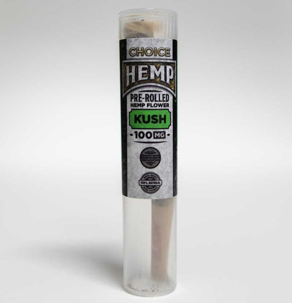 Choice Botanicals Hemp Pre-Rolls - 100mg