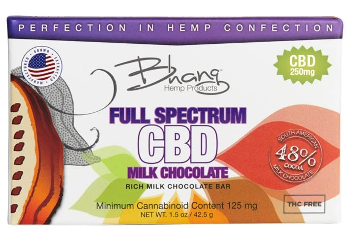 Bhang Full Spectrum CBD Milk Chocolate
