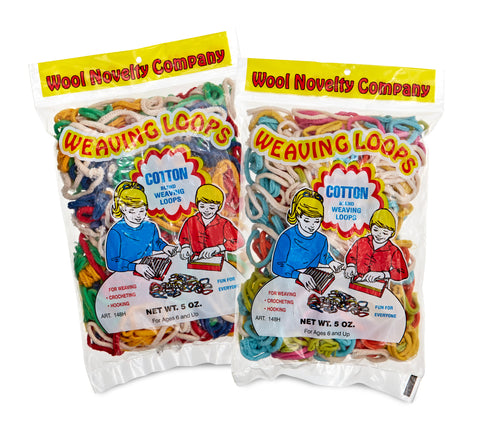 Cotton Loops 5 oz. - 10 oz. Refill Bag