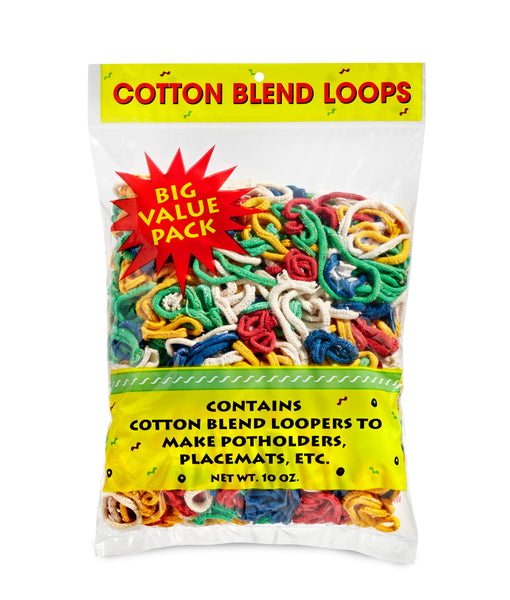 *** Nylon Loops 10 oz. Pkg    Assorted Color Bags AVAILABLE