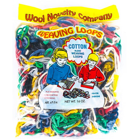 Cotton Loops 16 oz. Pkg