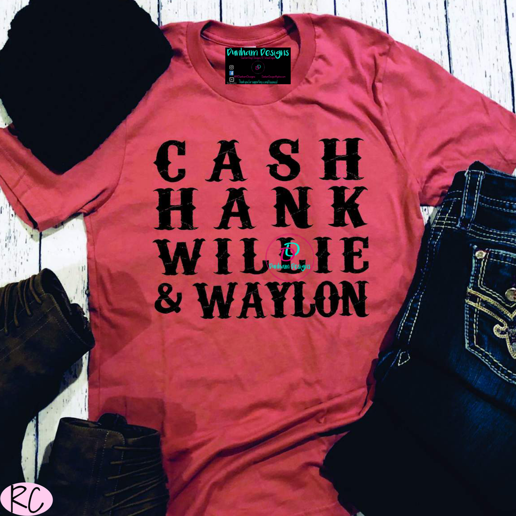 Cash Hank Willie & Waylon y