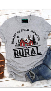 Pioneers Of Social Distancing - Rural