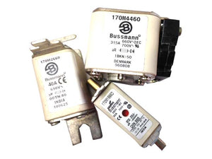 170M Fuses- All Types- Phone Us for Availability