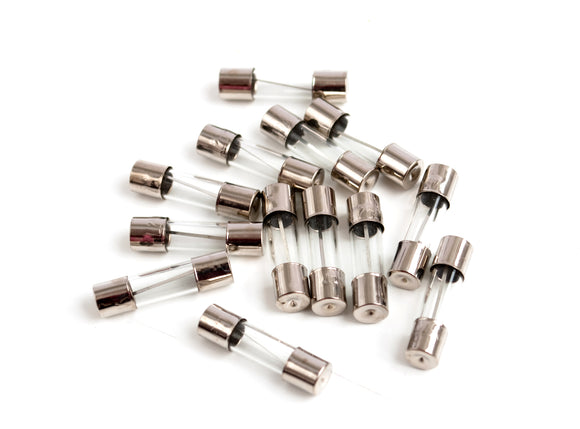 M205 5x20mm Fuse Fast Glass - Pack of 5