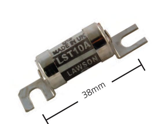 LST / STD Fuse with Offset Tags 240V 38mm