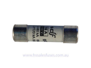 C14G 51x 14.3mm Fast gG Fuse Pack of 3