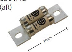 FEE Fuse aR 690VAC Ultra Rapid Semiconductor Protection 70mm