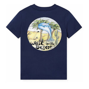 """Whale In The Desert"" - T-Shirt"