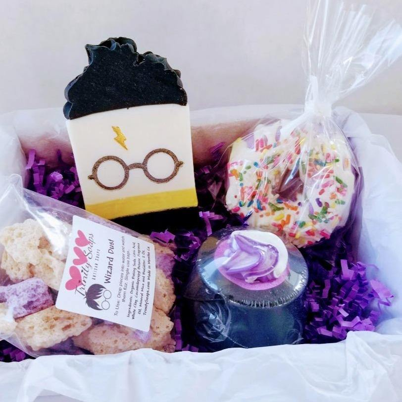 Harry Potter gift box, Hufflepuff - Trinity Soaps