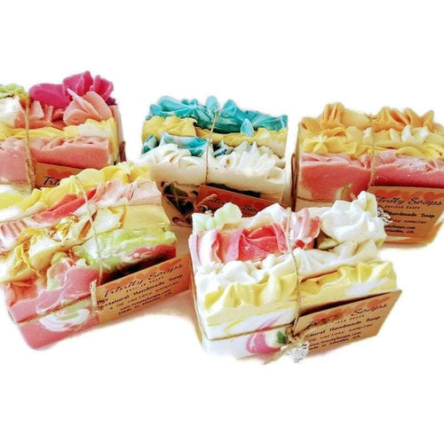 Thank you gift for women, soap sample bundles - Trinity Soaps