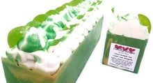 Load image into Gallery viewer, Goat milk soap, margarita lime - Trinity Soaps