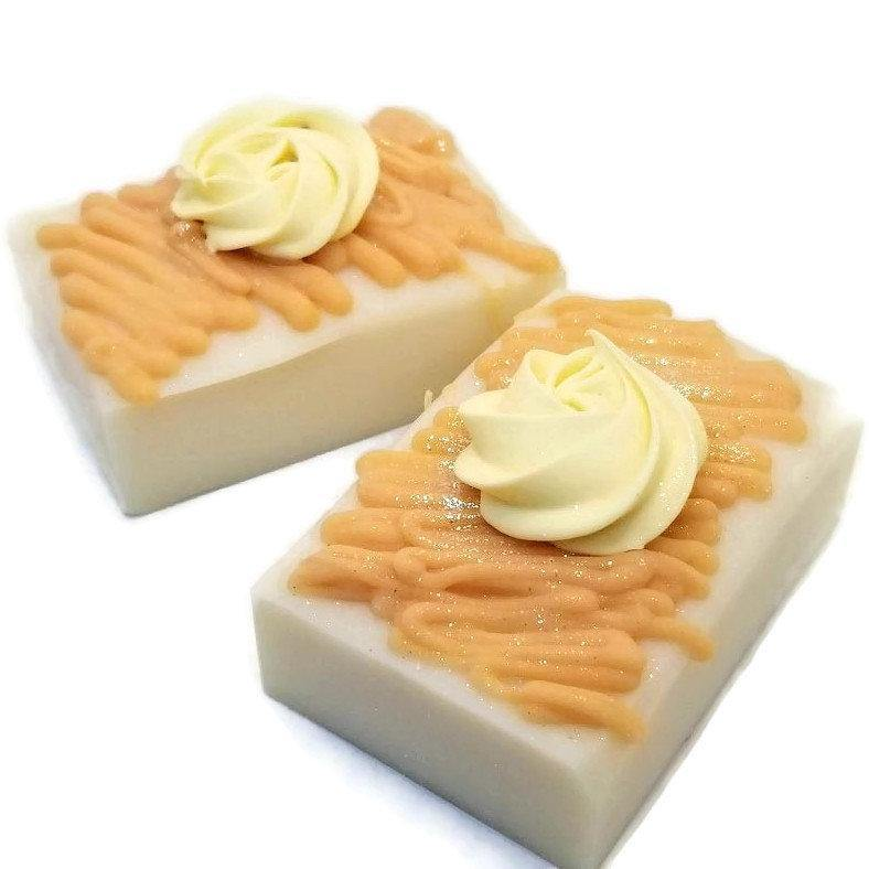 Honeysuckle, Organic coconut milk soap - Trinity Soaps