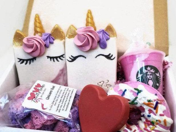 Unicorn soap gift box set - Trinity Soaps