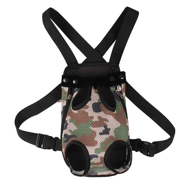 Camouflage Backpack Pet Carrier Bag For Small Dog Cats Fashion Portable Bag