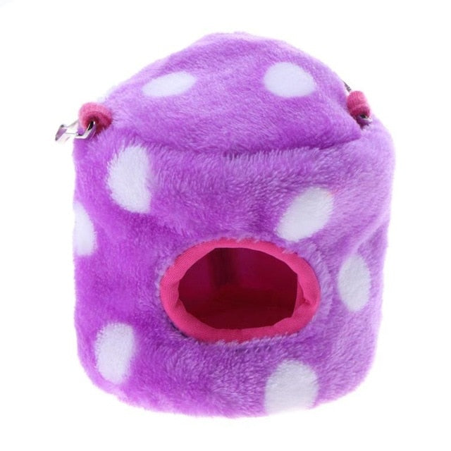 Fleece Guinea Pig Hamster House Pet Bed Nest For Chinchillas Squirrel Bed Cage Accessories