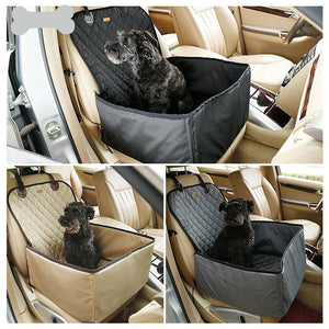 Folding Waterproof Dogs Cats Pet Car Carriers Comfortable Dog Cat Pet Seats Bags Mats Baskets