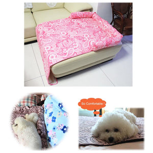 Pet Dog Sofa Bed Mat Car Seat Cover Washable Dog Cat Kennels Nest House Pets Supplies