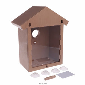 DIY Home Decoration Bird House Shallow Outdoor Box Roof High Quality Birds Supplies
