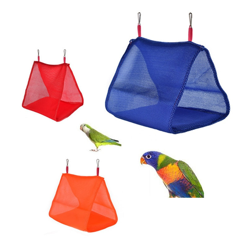 Bird Cage Parrot Hammock Breathable Hanging Bed Pet Supplies Swing Tent Toys for Hamster Bird Nest House