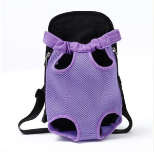 Travel Dog Bag Backpack Dog Carriers Fashion Red Color Breathable Pet Bag Pet Puppy Carrier