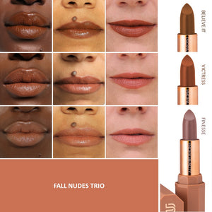 FALL NUDES TRIO