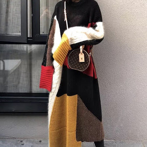knitted oversize sweater