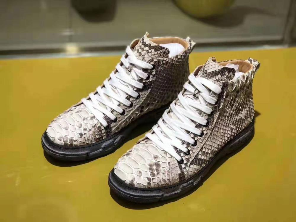 Real Genuine python skin leather men  shoe's