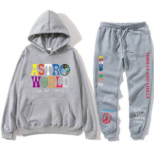 TRAVIS SCOTT ASTROWORLD  HOODIES AND SWEAT PANTS