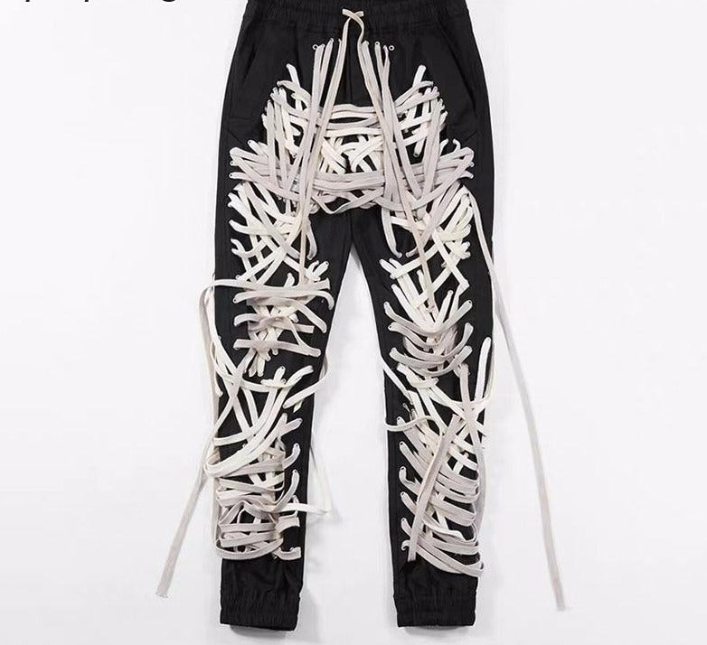 High wasted rope Gia pants