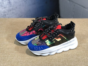 Men and women chain Reaction sneakers