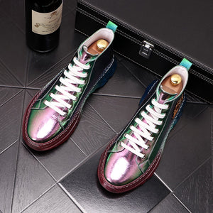 Lux High Top Sneakers