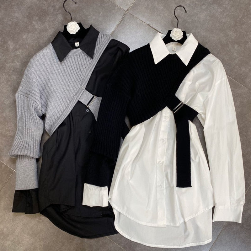 Prep two piece shirt set