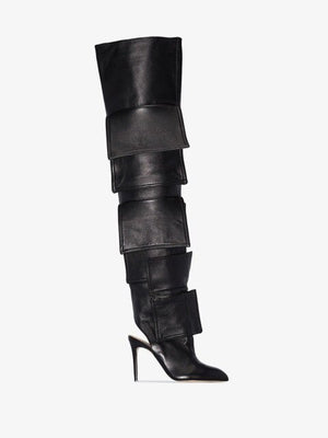 Sexy Thigh High Boots Thin High Heels  and Pointed Toe