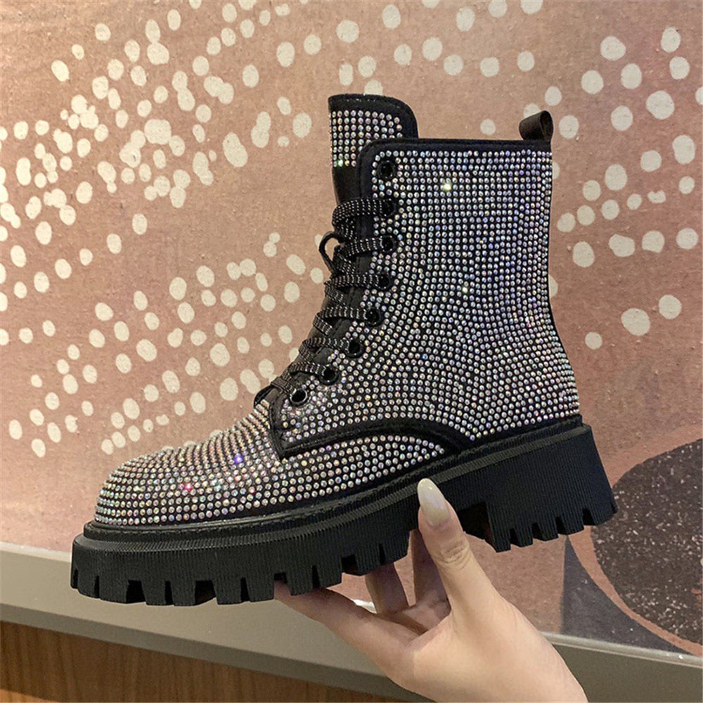 Stomp bling boots