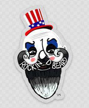 Load image into Gallery viewer, Rockin D Beard Stickers