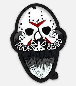 Rockin D Beard Stickers