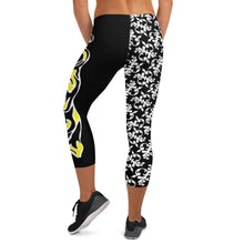 Load image into Gallery viewer, Rockin M Hair Capri Yoga Pants - Rockin D Beard