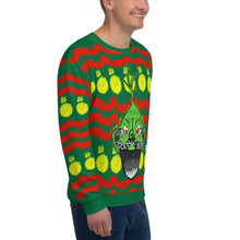 "Load image into Gallery viewer, Rockin D ""Ugly Sweater"" Unisex Sweatshirt - Rockin D Beard"