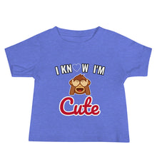 Load image into Gallery viewer, I'm Cute Jersey Short Sleeve Tee