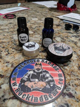 Load image into Gallery viewer, Grandpa's Front Porch Balm and Oil Set - Rockin D Beard