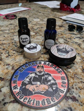 Grandpa's Front Porch Balm and Oil Set - Rockin D Beard