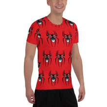 Load image into Gallery viewer, SpiderBeard All-Over Print Men's Athletic T-shirt