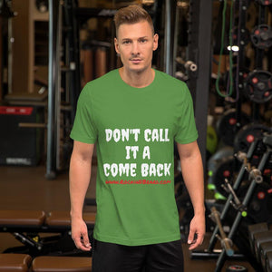 Don't Short-Sleeve Unisex T-Shirt