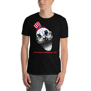 Captain Bearding Short-Sleeve Unisex T-Shirt