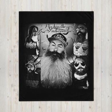 Ambassador Throw Blanket - Rockin D Beard