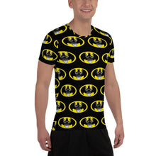 Load image into Gallery viewer, BatBeard All-Over Print Men's Athletic T-shirt