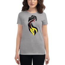 Load image into Gallery viewer, RockinMHair Women's short sleeve t-shirt